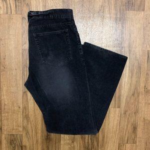 J. Crew Corduroy Black Pants 34x31